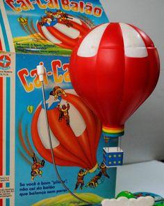 Cai-Cai Balão Brinquedo da Estrela 1989  Brinquedo foi lançado pela Estrela em 1989, sob licença Nomura Toys (Japão)