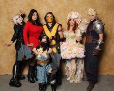 We met Jessica Nigri, Yaya Han, Ivy Doomkitty, and Okageo!!!