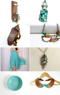 Turquoise Addiction by Arlene on Etsy--Pinned with TreasuryPin.com