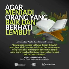 CARA MENJADI ORG BAIK DAN BERHATI LEMBUT. Reminder Quotes, Self Reminder, Islamic Inspirational Quotes, Islamic Quotes, Jokes Quotes, True Quotes, Hijrah Islam, Learn Islam, Islam Facts
