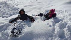 karda çocuklar..