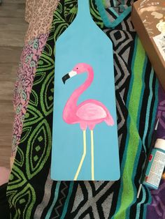Flamingo paddle! #sorority #flamingo #paddle