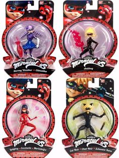 miraculous 4 figuras ladybug cat noir antibug tormentosa Miraculous Ladybug Toys, Miraculous Ladybug Wallpaper, Candy Gift Baskets, Candy Gifts, Hello Kitty Toys, Bloom Winx Club, Cool Toys For Girls, Cat Noir, Bday Girl