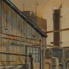 Oil Plant 11 (Rusty Haze) - David J. Teter