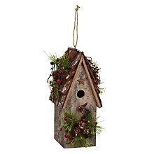 Buy John Lewis Birdhouse Decoration Online at johnlewis.com