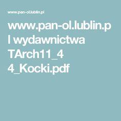 www.pan-ol.lublin.pl wydawnictwa TArch11_4 4_Kocki.pdf