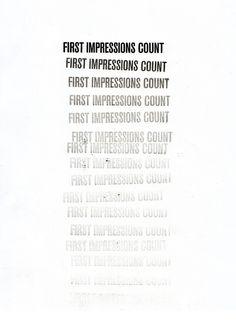 First impressions count - Estudio Javier Jaén