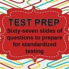 The objective of this  PowerPoint is to use it as a bellringer activity, a quiz, a contest, or as a review for standardized test prep.  The first 1...