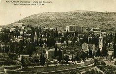 قرية عين كارم المهجرة قضاء مدينة القدس - فلسطين 1929م  The Village of ein kerem displaced elimination of the city of Jerusalem - Palestine 1929 m