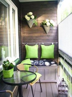 Voor een klein balkon. mooi! voor mijn moeder... mss!