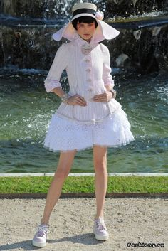 Chanel - Круизная коллекция 2013 / кожаная куртка chanel