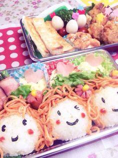 smile bento.  お弁当:ピクニックお弁当♪