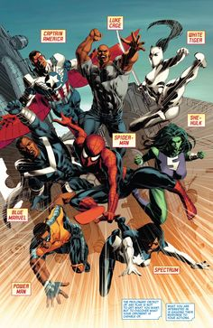 The Mighty Avengers in New Avengers #28 - Mike Deodato