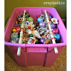Christmas Decoration Storage Hacks to Keep Your Christmas Ornaments and Lights Safe and Sound > Detectview Christmas Ornament Storage, Ornament Box, Christmas Tree Ornaments, Christmas Crafts, Christmas Decorations, Holiday Storage, Hanging Ornaments, Holiday Tree, Christmas Balls