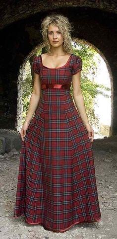 Today I am bringing along a beautiful assemblage of Tartan evening dresses! Today I am bringing forth another awesome post of Tartan evening dresses Traditional Scottish Clothing, Modern Traditional, Pretty Dresses, Beautiful Dresses, Dress Skirt, Dress Up, Chiffon Maxi Dress, Tartan Fashion, Tartan Dress