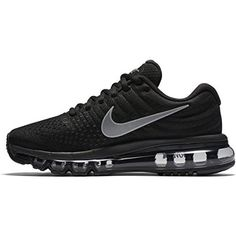 2a7ecc7d8d4 Nike Womens Air Max 2017 Running Shoes BlackWhiteAnthracite 849560001 Size  95    Be sure to