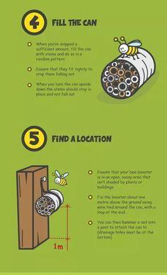 How to Make a Mason Bee Habitat - Perfect Life Cycle of a Bee Activities - Natural Beach Living - Bee Activities, Bug Hotel, Mason Bees, Bee House, Autumn Garden, Garden Fun, Garden Tips, Save The Bees, Garden Pests