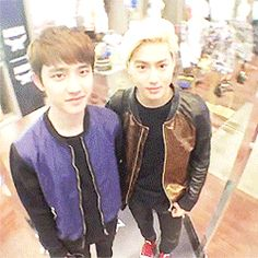 360 degree D.O & SUHO~!! keke it made me dizzy but they are darn cute~ <3 <3