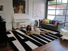 Dying for this 'Family' rug I saw it on the Home By Novogratz show (one of my favs)