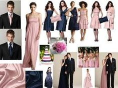 Image result for navy wedding suit blush tie