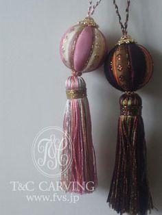 Beautiful tassels