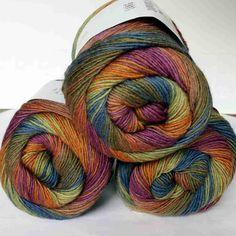 Jawoll Magic 6fach Herbst Lang Yarns Wolle 89.0015 - Heikes Handgewebtes: Traumhafte Wolle für Socken und noch viel mehr - dreamlike wool for socks and much more