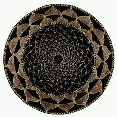A short but beautiful gallery of (not traditional) mandalas and chakra wheels. Sacred Geometry Art, Sacred Art, Mandala Painting, Mandala Art, Flower Of Life, Mandala Tattoo, Fractal Art, Artwork, Drawing