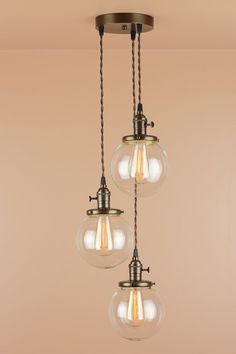 Chandelier Lighting Pendant Lights w/ 6 inch by BlueMoonLights $384