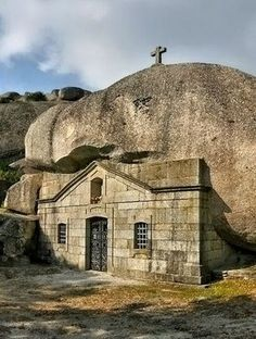 Vieira do Minho (Portugal) Places In Portugal, Visit Portugal, Spain And Portugal, Portugal Travel, Beautiful Places To Visit, Great Places, Cathedral Church, Chapelle, Place Of Worship