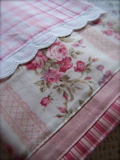 Luxury Decorative tea towel. by Created by Cath., via Flickr