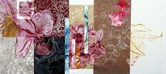 mixed media nature image - a level art exam