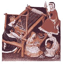 Medieval Technology Pages - Horizontal Loom