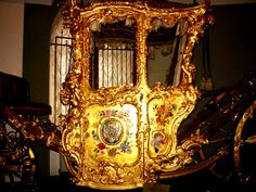 The Golden Carriage of Catherine the Great