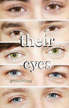their eyes... one direction, 1D, harry styles, louis tomlinson, niall horan, liam payne, zayn malik, hazza, nialler, lou, harreh, tommo, .xx