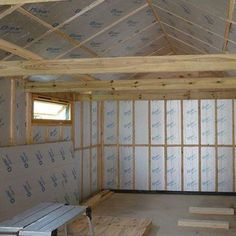 Tongue And Groove Sheds, Tongue And Groove Cladding, Tongue And Groove Walls, Door Insulation, Best Insulation, Insulation Materials, Cheap Storage Sheds, Shed Storage, Shed Bedroom Ideas