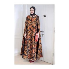 < thankyou so much for this beautiful batik cape dress  @kantisudirocollections >
