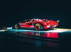 A designer fused a Lamborghini, Cybertruck, and DeLorean into one badass automobile Lamborghini, Automobile, Car Design Sketch, 3d Design, Retro Futuristic, Go Kart, Courses, Custom Cars, Concept Cars