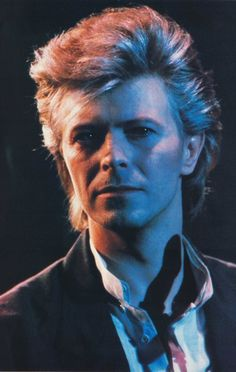 David Bowie sorta looks normal here.