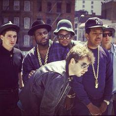 RUN-DMC and The Beastie Boys #classic