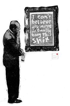 So-called art - Bansky