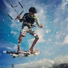 kite, kitesurf, kitesurfing, kiteboarding