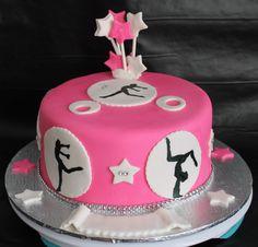 Gâteau gym rose