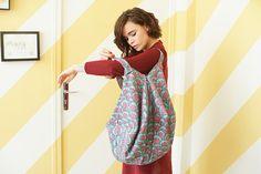 DIY tote bag losange Plus Diy Sewing Projects, Sewing Tutorials, Sewing Ideas, Vera Bradley, Diy Pochette, Diy Sac, Diy Tote Bag, Tote Bags, Textiles