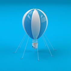 The watchful balloon archives. #3d #design #graphic #illustration #designinspiration #cgi #c4d #balloon by steve_jurado