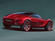 Moretti EGS Concept Design Sketch