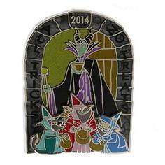 Disney Halloween Pin - Trick or Treat 2014 - Maleficent