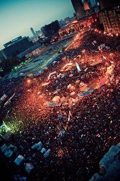 من ميدان التحرير