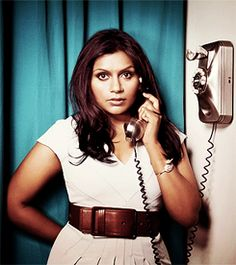 I want Mindy Kaling and I to be best friends.