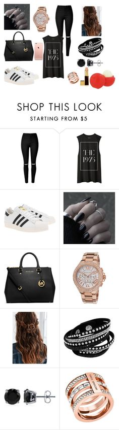 """Project 19"" by courts-rara on Polyvore featuring adidas Originals, MICHAEL Michael Kors, Michael Kors, BERRICLE, Tom Ford, Eos, women's clothing, women, female and woman"