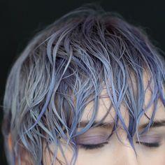 Rose's lavender amethyst lilac hue #hairstorystudio